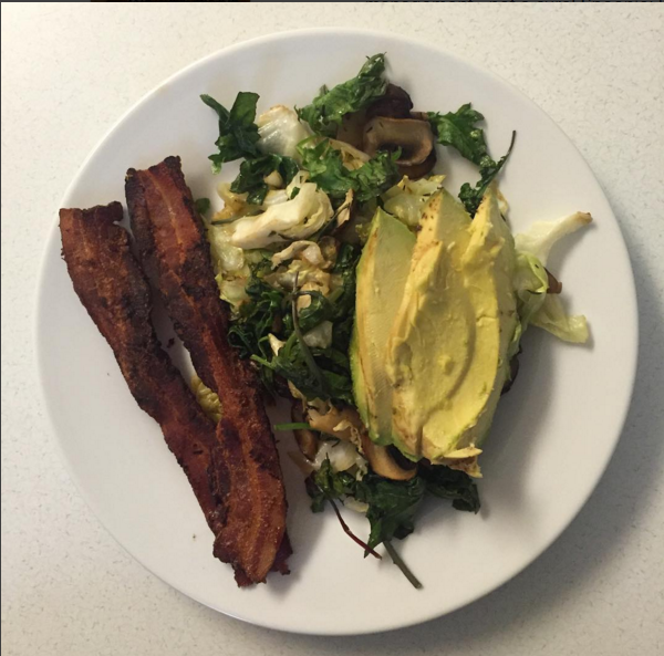 """eggless scramble"" AIP Breakfast hacks and recipe ideas"